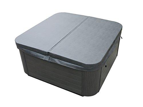 Outdoor Whirlpool Hot Tub Venedig Farbe weiß mit 44 Massage Düsen + Heizung + Ozon Desinfektion + LED Beleuchtung für 5 - 6 Personen für für Garten / Terasse / Außen - 9