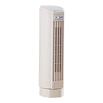 Daewoo Electric Air Cooling Oscillation Mini Tower Fan with Timer & Quiet Operation