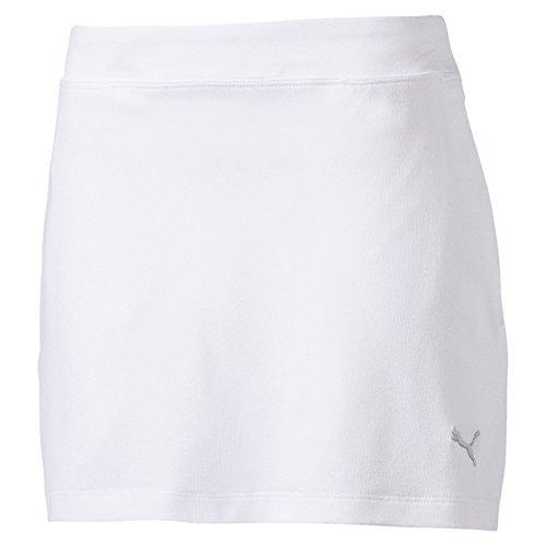 Puma Golf Training Solid Knit Rock Mädchen Damen weiß Größe 116