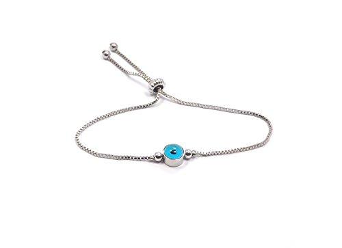 Test Remi Bijou Elegante Armband Armkette - BLAUES AUGE - Türkisch ... 30cbd65bc2
