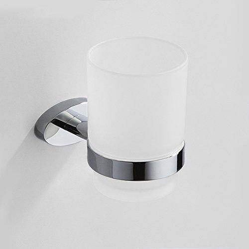 Toutes les bains de cuivre porte-gobelets à dents porte-verre Mur de verre de salle de bains Coupe Brosse à dents