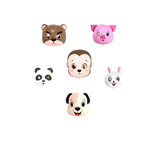 Repair Media Shop ★ RM ★ palloncino animali Animalier forma Elio palloncino compleanno bambini orso coniglio maiale scimmia cane Panda P110★ RM ★