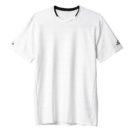 Adidas, Maglietta sportiva Condivo 14 Uomo Rosso (Unired/White/Poppy)