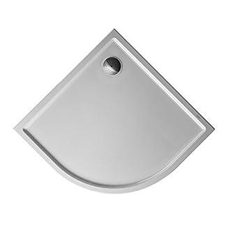 Duravit Plato de ducha Duravit STARCK Slimline cuarto de longitud m antideslizante 900x900x45mm blanco