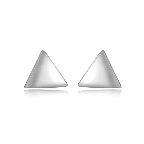 Tuscany Silver Ohrstecker Sterling Silber 5.5mm Dreieck Preisvergleich