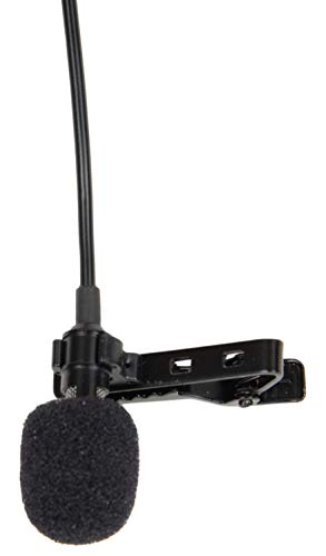 [Get Discount ] Generic 3.5mm Clip On Mini Lapel Lavalier Microphone (Black) 31GeSjWD67L