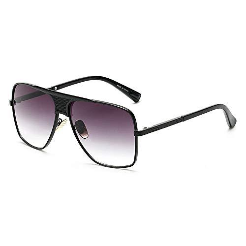 Eye-nak Oversized Herren Sonnenbrille in vielen Farben (C1 Schwarz)