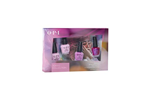 OPI Nagellack, Tokyo Collection 4er Mini Set,1er Pack (4 x 3.75 ml)