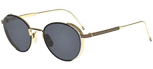 thom-browne-tb-106-black-gold-rotondo-titanio-unisex