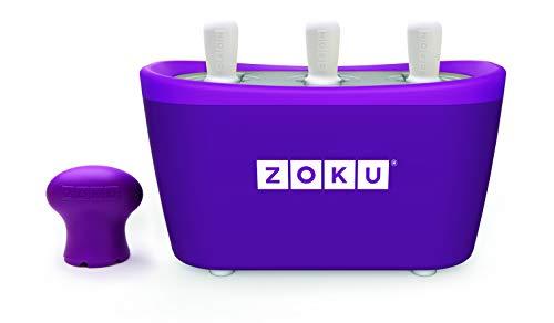 Zoku–3Quick Pop Maker pour glaçons immédiats–Violet