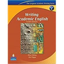Writing Academic English 4th (fourth) edition Text Only
