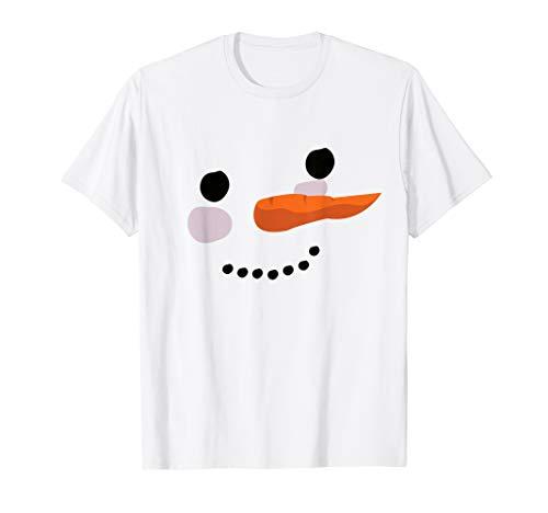 Schneemann Shirt Lustiges Halloween oder Weihnachten Kostüme T-Shirt