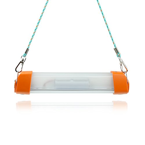 Preisvergleich Produktbild LED Camping Beleuchtung Laterne 3.6V LuminTekco, wiederaufladbare 4000 mAh Power Bank, Camping Lampe, Ladegerät für Outdoor Aktivitäten, 5 Lichtsmodus