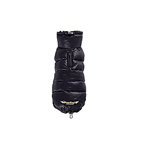Puppy Angel Love Faux Down Padding Vest, X-Large, Black