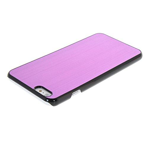 MOONCASE Metal Aluminium Cover Housse Coque Etui Case pour Apple iPhone 6 Plus Vert Voilet