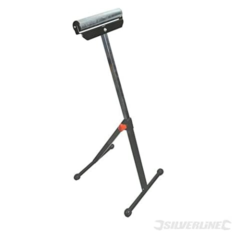 Power Tools Workshop Roller Stand Adjustable 685mm - 1080mm Adjustable roller stand supports large workpieces up to 60kg kilogram kilograme. Chrome-plated roller with heavy duty steel base. Height adjustable from 685 to 1080mm.