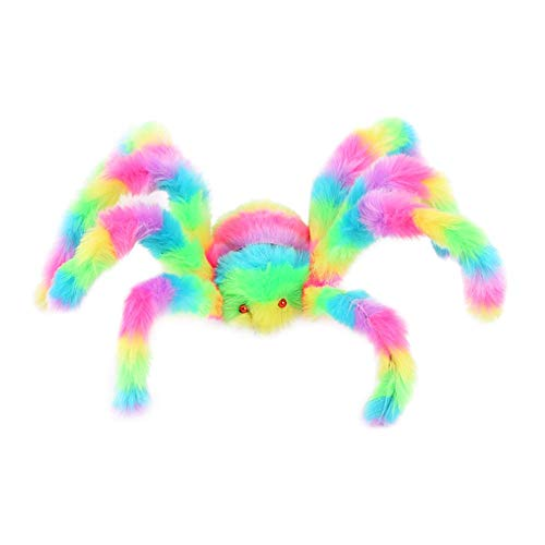 Spider Halloween Plush - Rainbow - 50-75 cm 19-29""