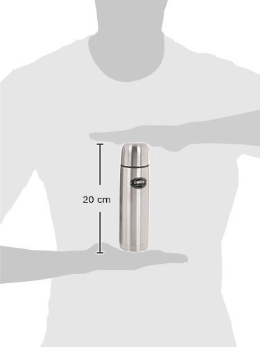 Cello Lifestyle Stainless Steel Flask, 350ml