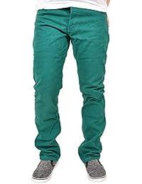881e339247b Kushiro City Mens Twill Chino Regular Fit Jeans Trouser