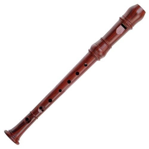 Classic Cantabile Bellissima F-Sopranino Sopraninoblockflöte (Stimmung: F-Sopranino, Holzoptik, Tonumfang: f2 - g4, barocke Griffweise, 3-teilige Konstruktion, hochwertige Verarbeitung, inkl. Tasche)