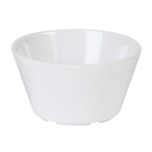Excellant·Milan Melamine White Collection 3.875-Inch 8-Ounce Bouillon Cup, White, 12-Piece by Excellant 8 Oz Bouillon