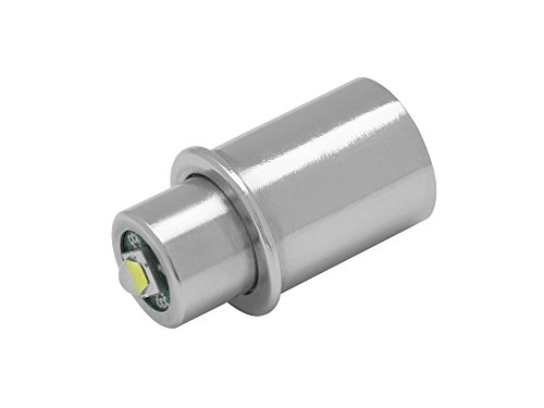Maglite LED Upgrade | LED-Ersatzbirne für Taschenlampe MAG-LITE 1-3 C/D-Cell | TorchLED-MagLV | super hell, 3 Watt, 1-4,5 Volt