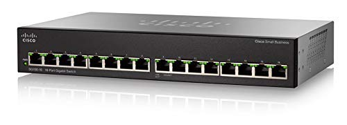 Cisco SG110-16-EU - Switch de red 128 MB