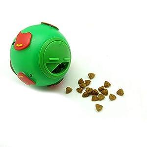 Unicoco Jouet Distributeur croquettes Balle de Distribution de Nourriture Chien Jouet interactif IQ Chat Jouet à mâcher pour chein Chat pour Augmenter Le QI et la Stimulation mentale