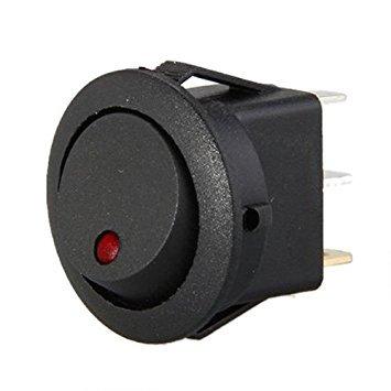 TOOGOOR 12V LED Interruptor basculante balance inversor