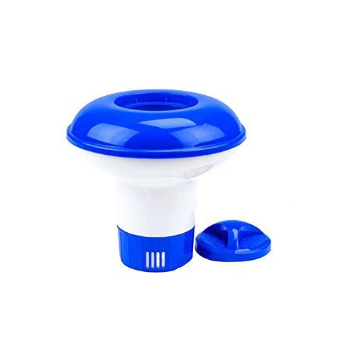 Automatische Medikamenten-dispenser (Ndier Pool Chemical Dispenser Extra Large Premium-Floating-Chlor-Zufuhr für Indoor Outdoor Schwimmbäder 5inch 1PC)