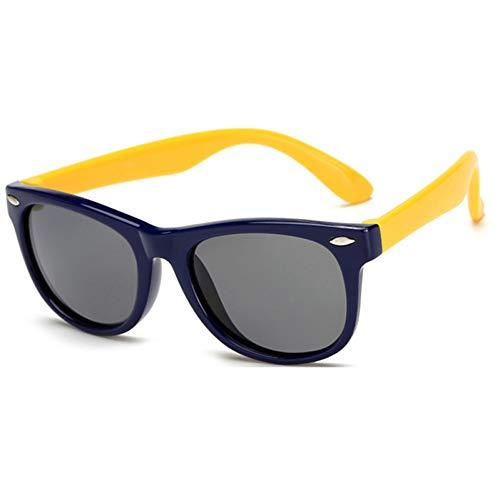 GBST Colorful Flexible Kids Sunglasses Polarized Eyewears Children Mirror,B4