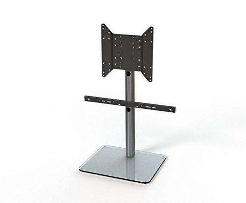 Just Racks TV-Möbel Glas Aluminium 50 x 61 x 69.8 cm