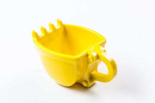 Baggertasse - Tasse in Form einer Baggerschaufel. Als Geschenk, für Kinder und Bagger Fans.