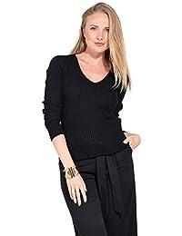 Amazon.fr   cachemire - Pulls, Gilets   Sweat-shirts   Femme   Vêtements 2710d81f3a08
