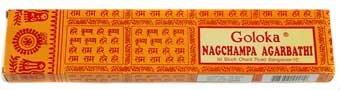 Nag Champa Goloka 12 pcs x 16 gr, (Box)
