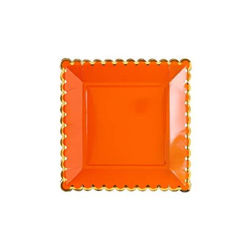-Teller, 22,9 cm, Orange ()