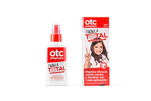 Otc Antipiojos Spray Fórmula - Total 125 ml