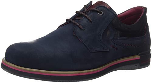 Fluchos Rocket, Zapatos Cordones Derby Hombre, Azul