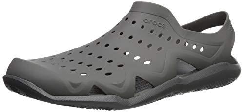 crocs Herren Swiftwater Wave Sport Sandalen, Grau (Slate Grey 0da), 42/43 EU
