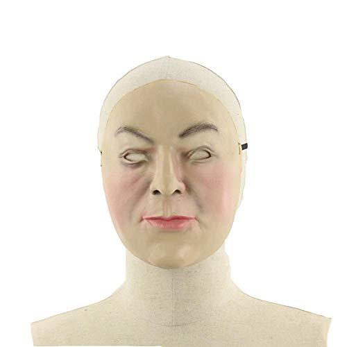 sichts-lustige lustige Halloween-Ball-Stange kleiden herauf Requisiten-Geist-Latex-Maske ()
