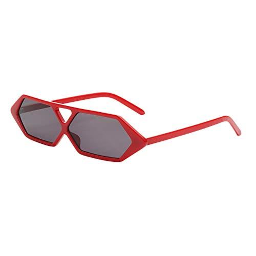 Igemy Erwachsene Persönlichkeit Sonnenbrillen Mode Strahlenschutz Diamant Brillen (D)