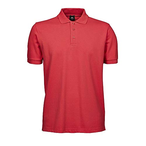 Tee Jays - Mens Stretch Deluxe Polo / Coral, XL XL,Coral