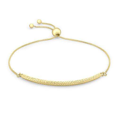 Carissima Gold - Bracelet - 9carats (375/1000) - Or Jaune - Femme - 25.4 Cm Or jaune