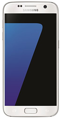 "Samsung Galaxy S7 - Smartphone libre Android (5.1"", 12 MP, 32 GB, 4 GB RAM, 4G), color blanco"