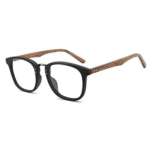Juleya Holzbrillen für Männer Frauen - Mode Brillen Brillengestell 180207YJJ01