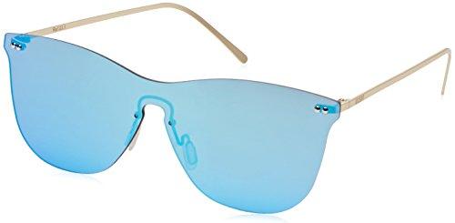Ocean Unisex-Erwachsene Eye Sonnenbrille, Blau (Oro/celeste), 58