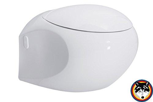 DESIGN Wand-WC Serie High Street *Perfect Clean Technology* mit WC Sitz Softclose antibakteriell