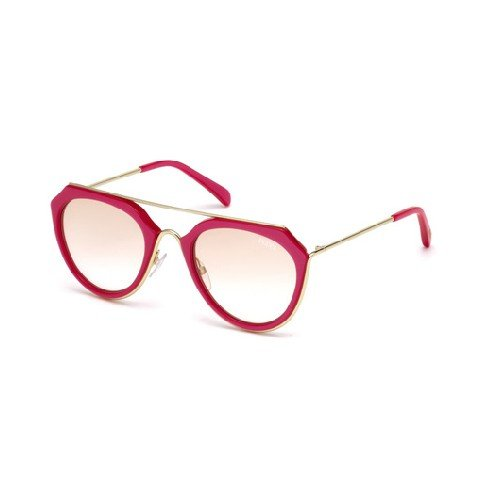 emilio-pucci-ep0045-o-rechteckig-acetat-metall-damenbrillen-red-brown-shaded-cat172f-51-22-135