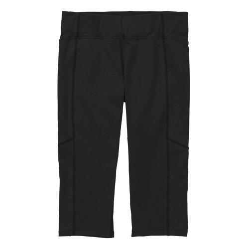 Ibex Outdoor Bekleidung Damen Synergy Crop Pant schwarz