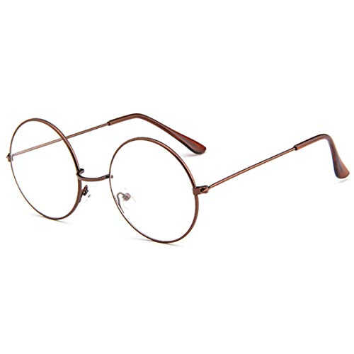 MUCHAO Fashion Unisex Retro Metall Eyewear Full Circle Frame Optische Gläser